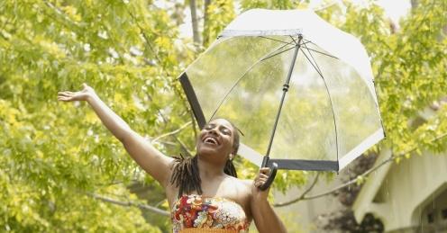 singing in rain